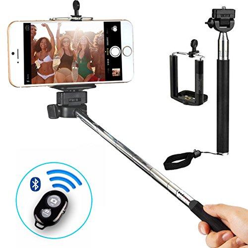 Indigi Professional Adjustable Handheld Self Portrait Selfie