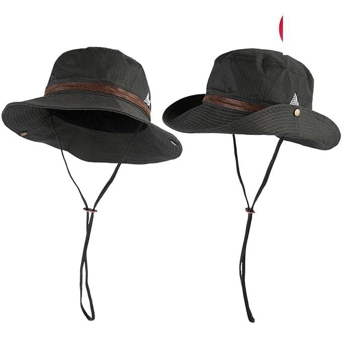 Versione coreana di pescatore cappello uomo scorre in vacanza di estate  Escursionismo pieghevole sole sole cappello 80c2670e96eb