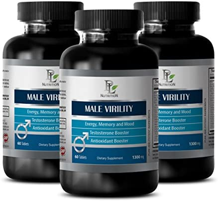 Sexual Wellness for him – Male Virility – Sexual welness for Men – 3 Bottles 180 Tablets