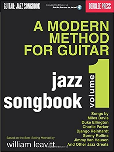 Amazon a modern method for guitar jazz songbook vol 1 bk amazon a modern method for guitar jazz songbook vol 1 bkonline audio 0884088098056 larry baione books fandeluxe Images