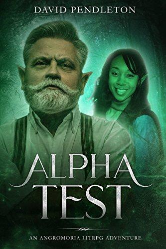 Alpha Testing: Angromoria LitRPG Adventure cover