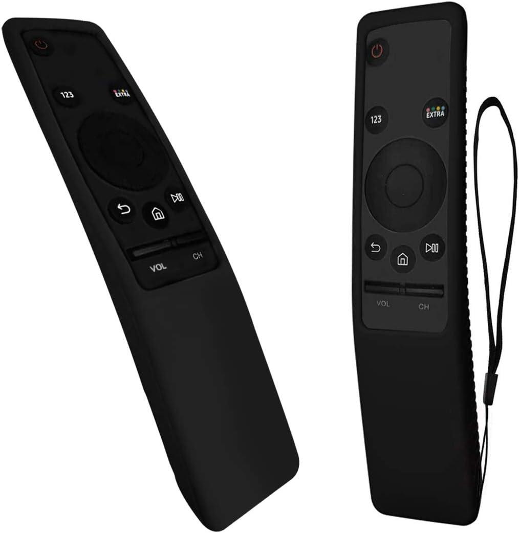 VSEER - Funda Protectora para Mando a Distancia Samsung Smart TV BN59 Series, Funda de Silicona Ligera a Prueba de Golpes para niños, Color Negro: Amazon.es: Electrónica