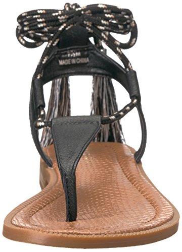 Gannon Ovest Vestito Sandalo Donne Nove Sintetica Nero Delle aBqzar0