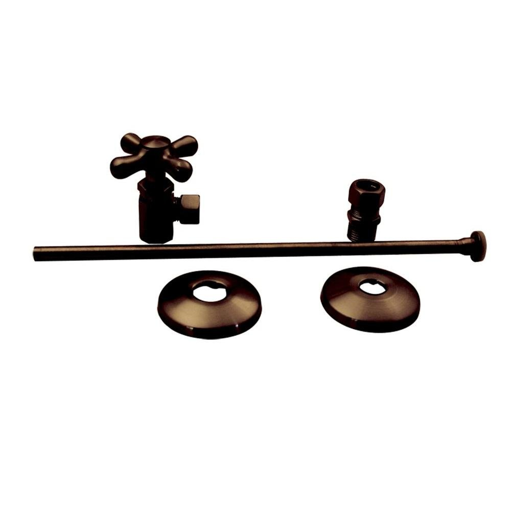 Elizabethan Classics NTLTS01ORB Closet Angle Supply Kit, Oil Rubbed Bronze
