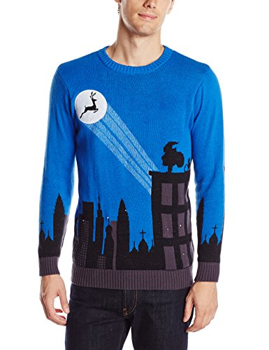 Cityscape Light Up Ugly Christmas Sweater