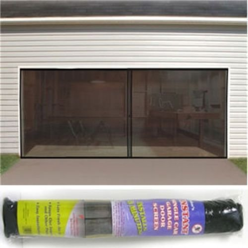 2 car double garage door screen 7 39 x 16 39 bug insect pest 16 car garage