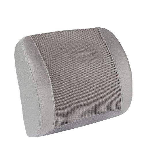 DHUYUN Car Lumbar Pillow Memory Foam Ergonomic Back Support Pillow Back Cushion Lumbar Support Cushion for Home Office…