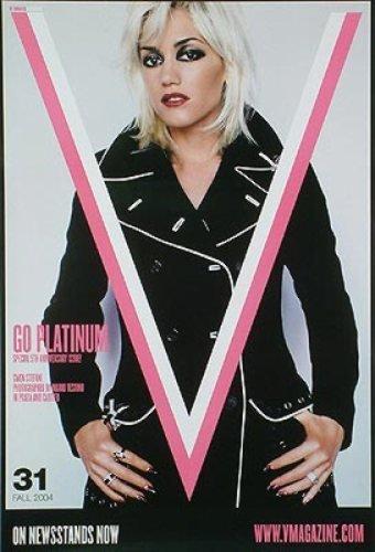Gwen Stephanie V Magazine Cover Style B 24X36 - Style Gwen