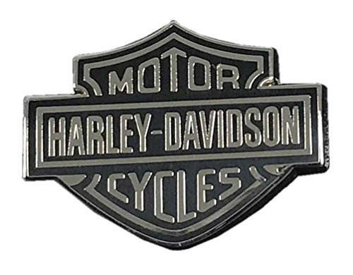 Harley Davidson Pin Bk Sv Dome B S