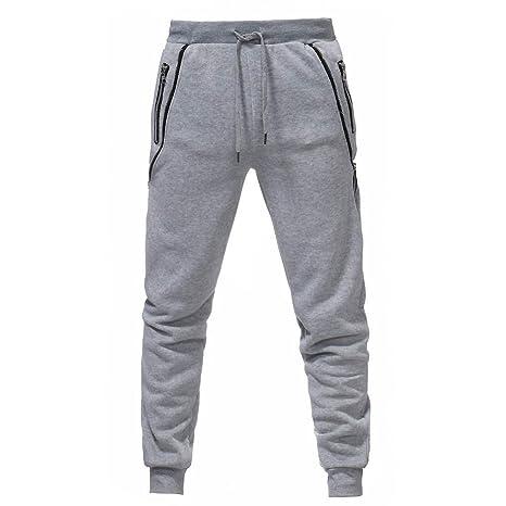 Pantalones de Hombre Casuals Chino Deporte Joggers Pants ...