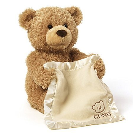 Gund Peek-A-Boo Teddy Bear Animated Stuffed Animal by USA