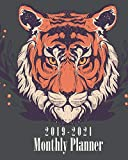2019-2021 Monthly Planner: Beautiful Tiger Cover, Daily, Monthly Calendar 36 Months Calendar Agenda Planner with Holiday 8' x 10'
