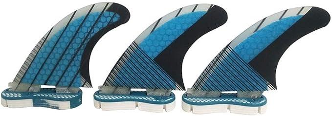 AKDSteel Flossen Fiberglas Honeycomb FCS2 Fins G5 Fin Surfboard Fin