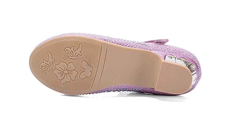 Always Pretty Little Girls Rhinestone Pretty Sandal Dress Shoes Pumps AP7080301