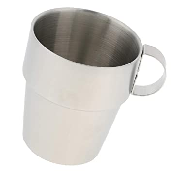 Amazon.com: SM SunniMix taza de té de café pulido taza de ...