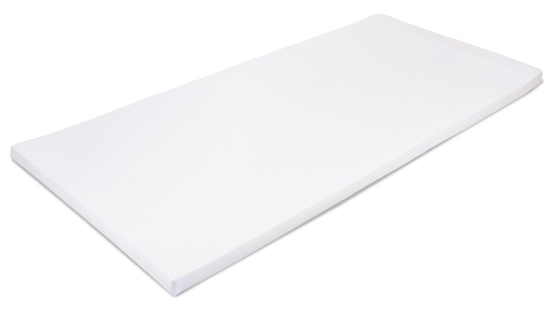 MSS 100300-200.80.4 Viscoelastische Matratzenauflage, RG50, mit Bezug, Größe 80 x 200 x 4 cm