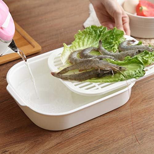 51R6pJ9VBjL. AC UPKOCH Microwave Food Steamer Cooking Steamer Basket for Fish Vegetable Buns(Random color)    Description