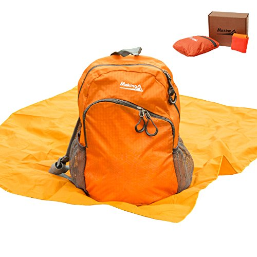MAKINO Ultralight Foldable Backpack Outdoor Wat...