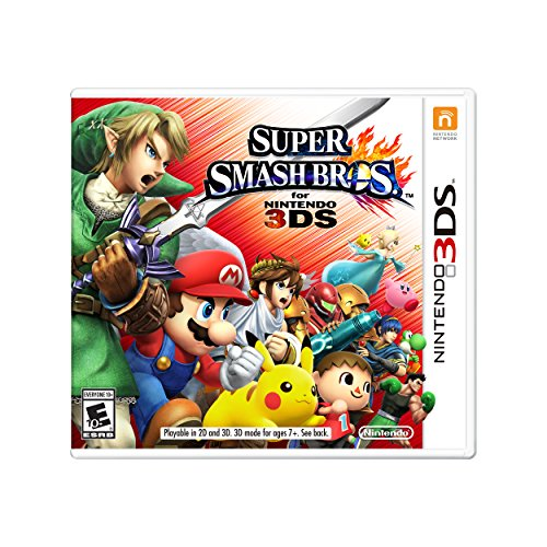 Super Smash Bros. - Nintendo 3DS (Brothers Super 3 Wii Mario)