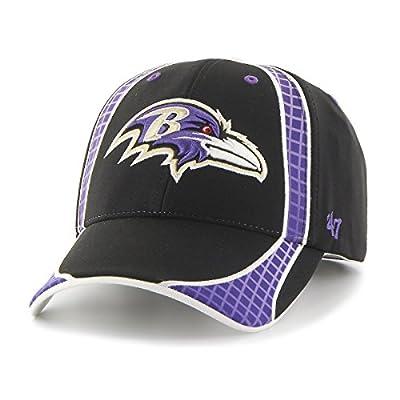Men's Adjustable Baltimore Ravens Hat Clu MVP Cap