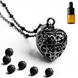 Best Necklaces Magnetics - Maromalife Heart Aromatherapy Essential Oil Diffuser Necklace Locket Review