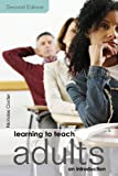 Learning to Teach Adults, Nicholas Corder, 0415423635