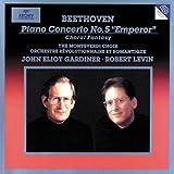 """Beethoven: Piano Concerto No. 5 """"Emperor"""" - Choral Fantasy / R. Levin, Gardiner"""
