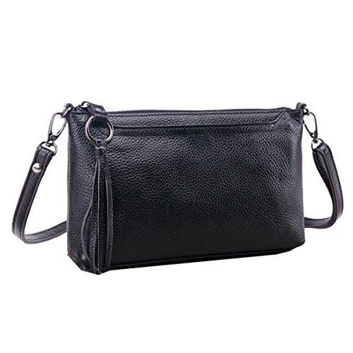 Missmay Womens Shoulder Leather Messenger