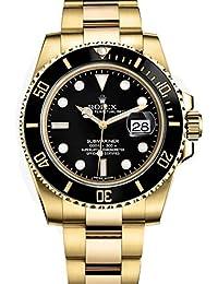 Yellow Gold Watch Black Dial Watch 116618
