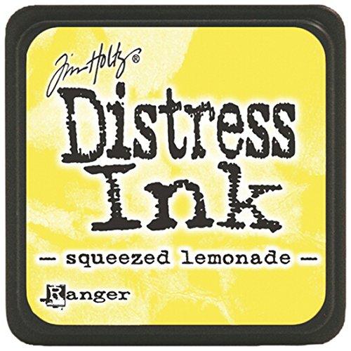 Ranger DMINI-40200 Tim Holtz Distress Ink Pads, Mini, Squeezed Lemonade ()
