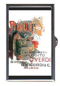 Giuseppe Verdi Falstaff Retro Coin, Mint or Pill Box: Made in USA!