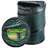 Coghlans 1219 Camping Trash Can, Spring-Loaded Pop-Up, 19 x 24-In.