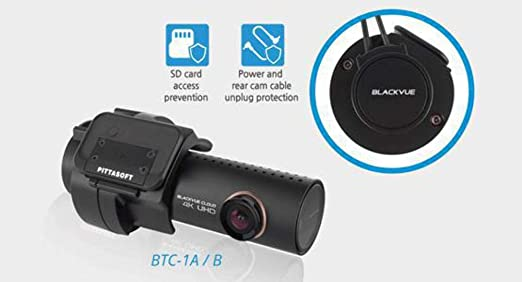 The BlackVue BTC-1A Tamper-Proof Case is a Security Accessory for BlackVue DR900S//750S//650//550