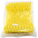 Leadseals(R) Yellow Numbered Security Zip Ties