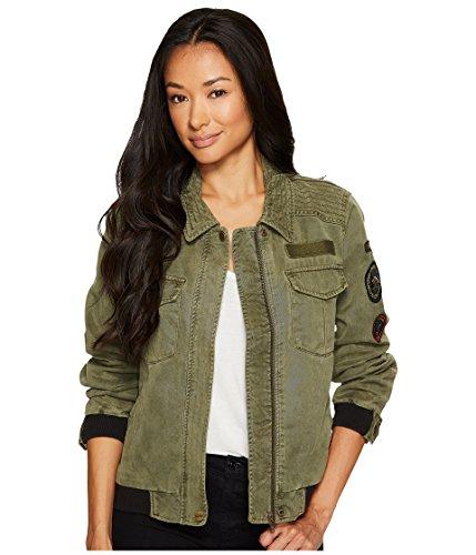 Womens Eisenhower Jacket - Sanctuary Women's Camp Eisenhower Bomber Jacket Fatigue Outerwear