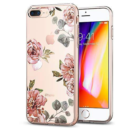 174eb9b614a iPhone 8 Plus Case, iPhone 7 Plus Case, Spigen Liquid Crystal [2nd  Generation