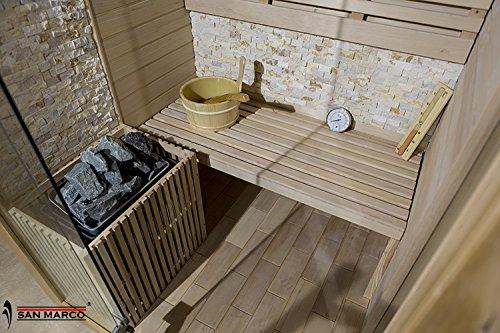 San Marco ibiza Cabina sauna finlandese in legno per una o due