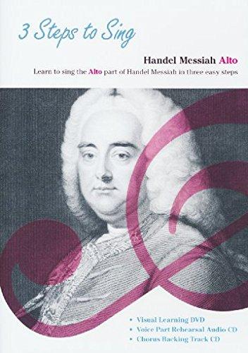 3 Steps To Sing: Handel Messiah - Alto Voice (DVD / Doppel-CD)