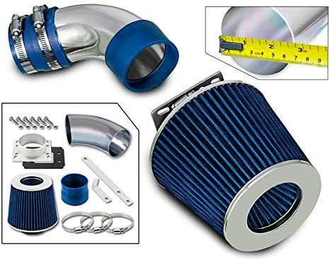 Rtunes Racing Short Ram Air Intake Kit Filter Combo BLUE Compatible For 86-89 Toyota Celica 2.0L Non-Turbo /…