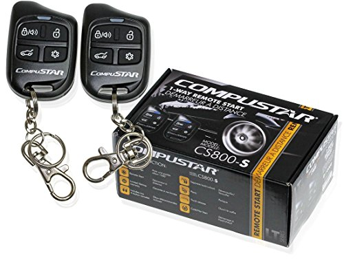 Compustar CS800-S 1-Way Remote Start with 2 4-Button Remotes 1000 Feet Range CS800S CS800 (Diesel Remote Starter compare prices)
