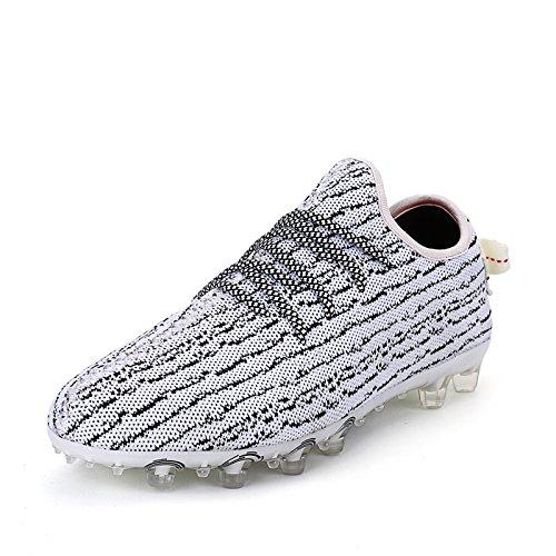 Xing Lin Chaussures De Football Nouvelles Chaussures Chaussures Tendance Jeunes Spike Cloué Des Chaussures DHommes, 43, Gris Clair