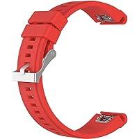 MagiDeal utbytesklocka, silikon vattentät fitness sport smart slitage armband rem bandage armband med metallspänne för…