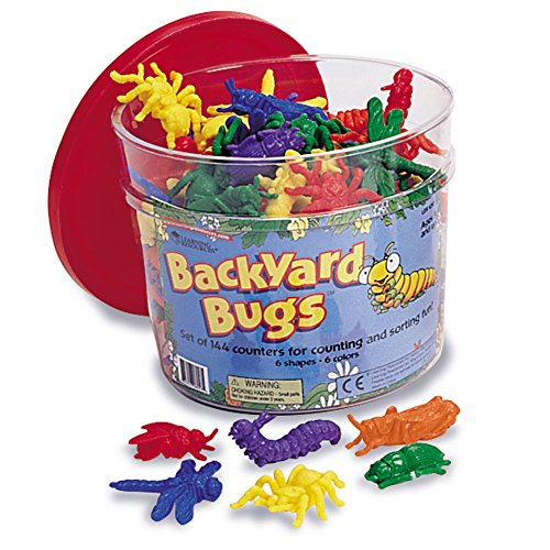 Learning Resources Backyard Bugs, Set of 144