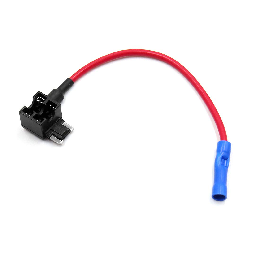 uxcell Car Add-A-Circuit 5A 10A 15A 20A 25A Low Profile Mini Blade Style Fuse Holder Tap