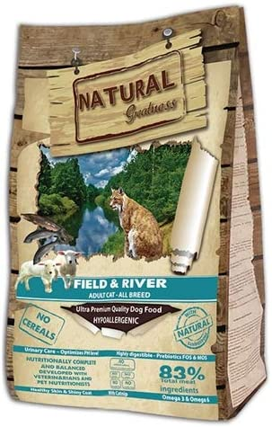 Natural Greatness Field & River Alimento Seco Completo para Gatos - 6000 gr: Amazon.es: Productos para mascotas