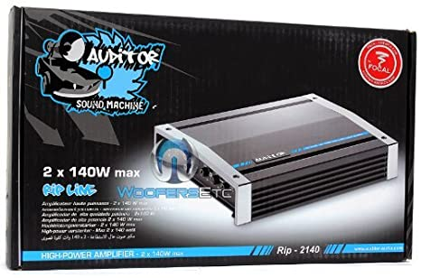 Amazon.com: Focal Auditor RIP-2140 2/1 Channel 340W Max Amplifier: Car Electronics