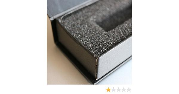 3 x cajas de regalo magnéticas para USB: caja de regalo con solapa magnética. Incluye espuma, para usar con memorias flash y unidades extraíbles, Presentación de boda caja regalo, Obsequio: Amazon.es: Hogar