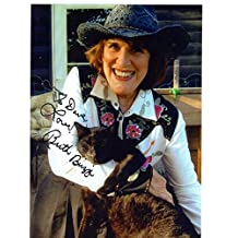 RUTH BUZZI HAND SIGNED 7x10 COLOR PHOTO+COA COMEDY LEGEND TO DAVE