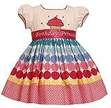 Bonnie Jean Girls Princess Polka Dot Birthday Dress, 12M