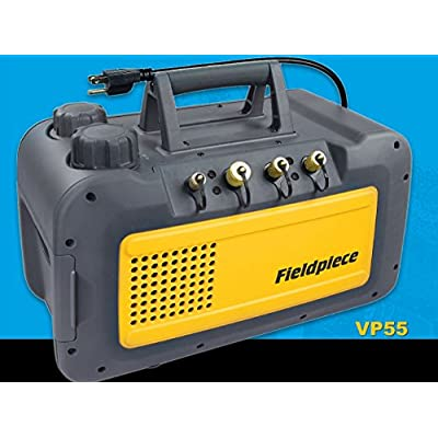 Fieldpiece VP55 Two Stage 5 CFM Vacuum Pump: Industrial & Scientific